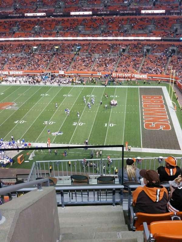 FirstEnergy Stadium, section: 512, row: 10, seat: 4