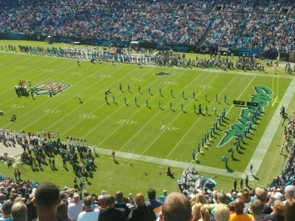 Bank of America Stadium, section: 509