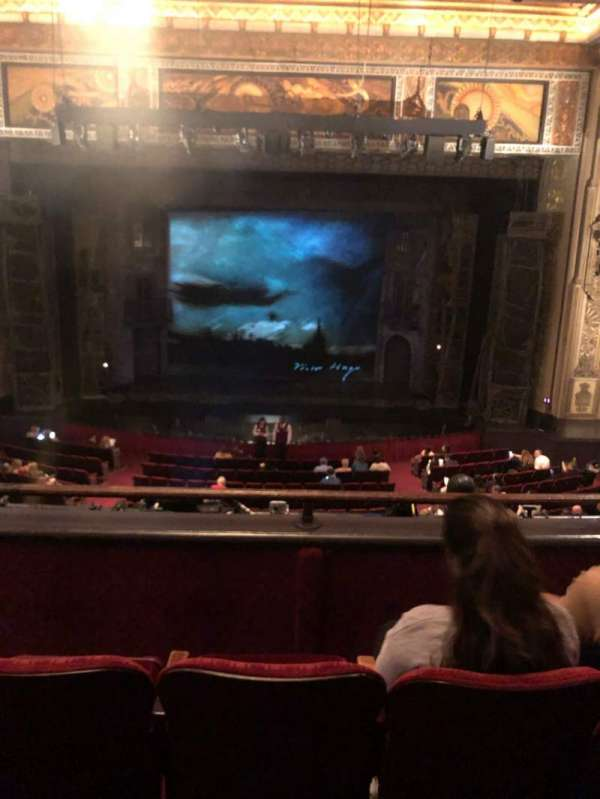 Hollywood Pantages Theatre, section: Mezzanine C, row: C, seat: 106