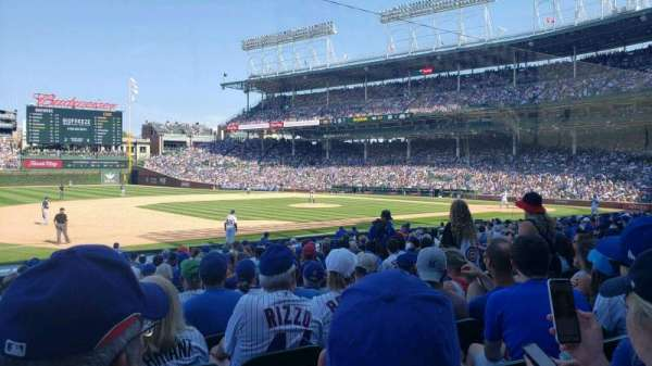 Wrigley Field, section: 109, row: 6, seat: 7