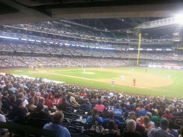 Miller Park, section: 111, row: top, seat: 7