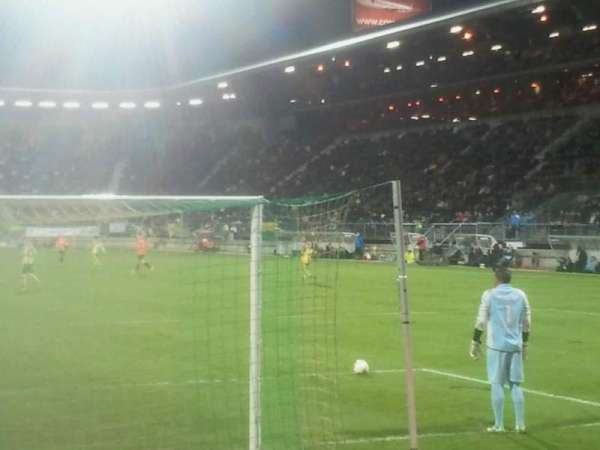 Cars Jeans Stadion, section: vak - w, row: 1, seat: 6