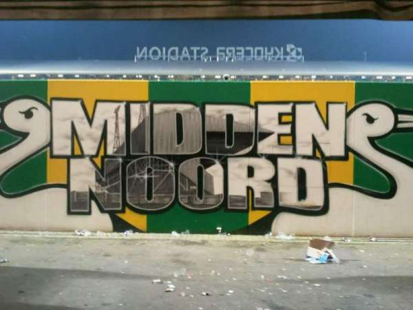 Cars Jeans Stadion, section: midden noord