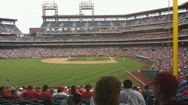 Citizens Bank Park, section: 142, row: 23, seat: 2