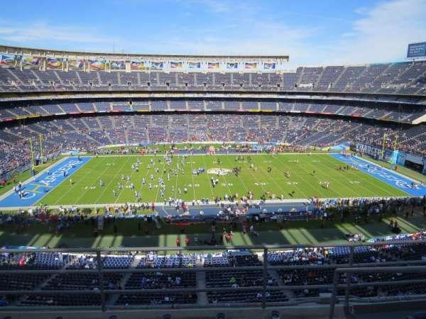 SDCCU Stadium, section: LV35, row: 4, seat: 18