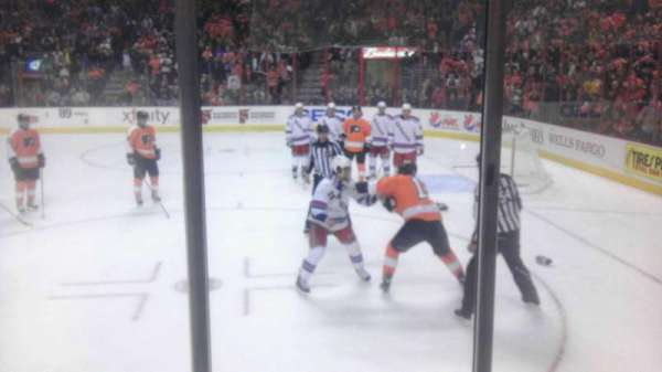 Wells Fargo Center, section: 115, row: 3, seat: 2