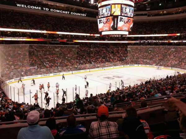 Wells Fargo Center, section: Club Box 22, row: 1 , seat: 3