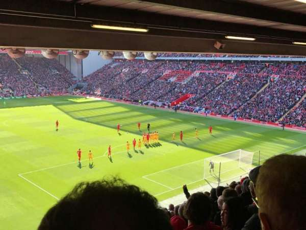 Anfield, section: 227, row: 12, seat: 184
