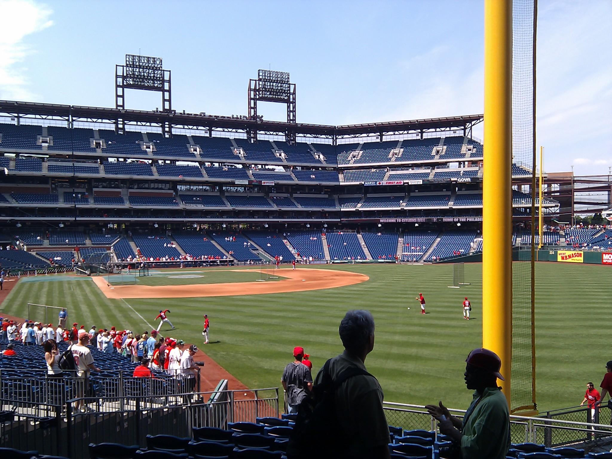 Citizens Bank Park Section 106 Row 14 Seat 5