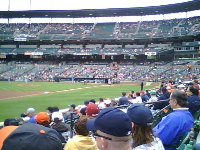 Oriole Park at Camden Yards Section 60 Row 5 Seat 9