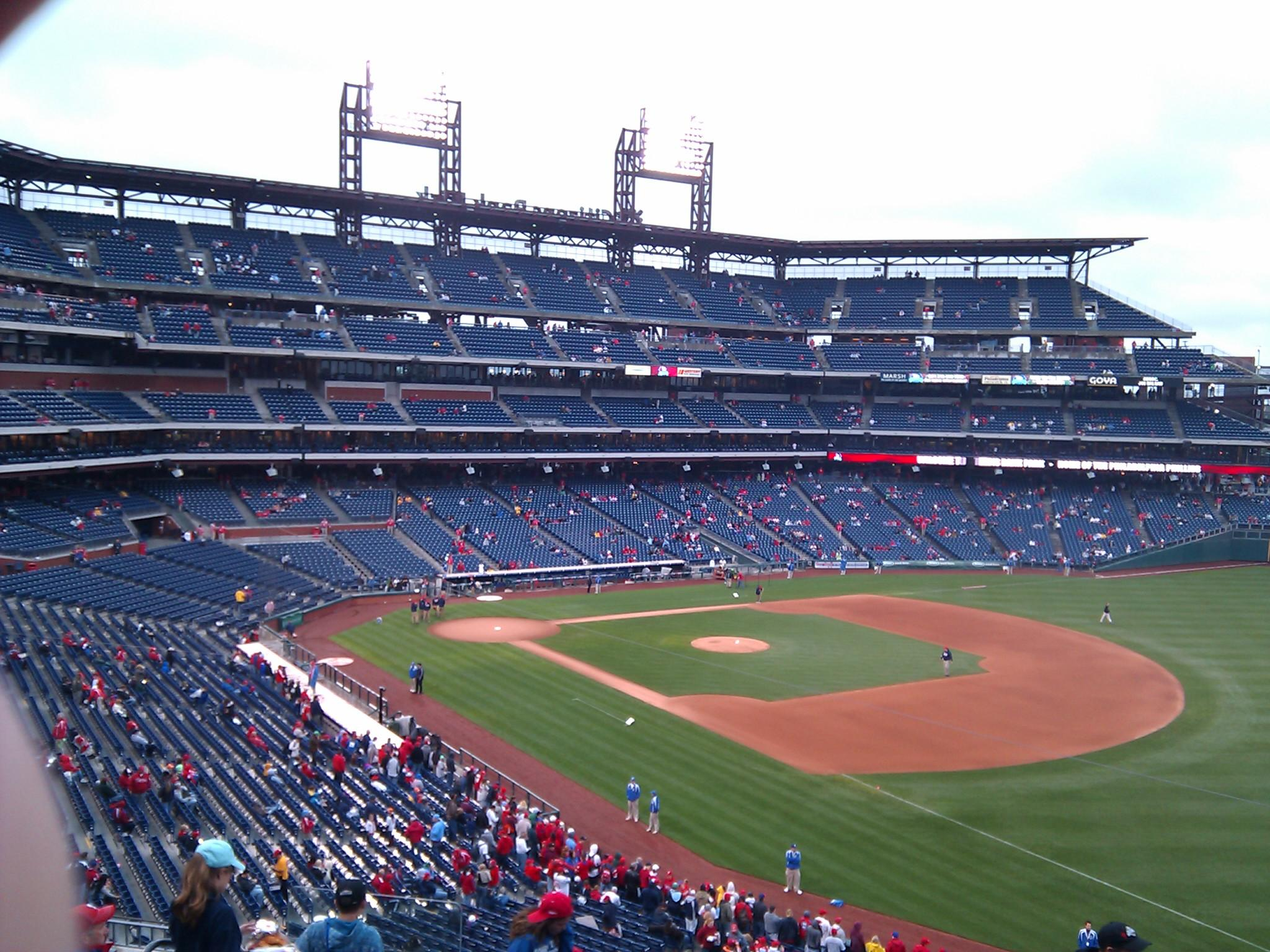 Citizens Bank Park Section 209 Row 9 Seat 19