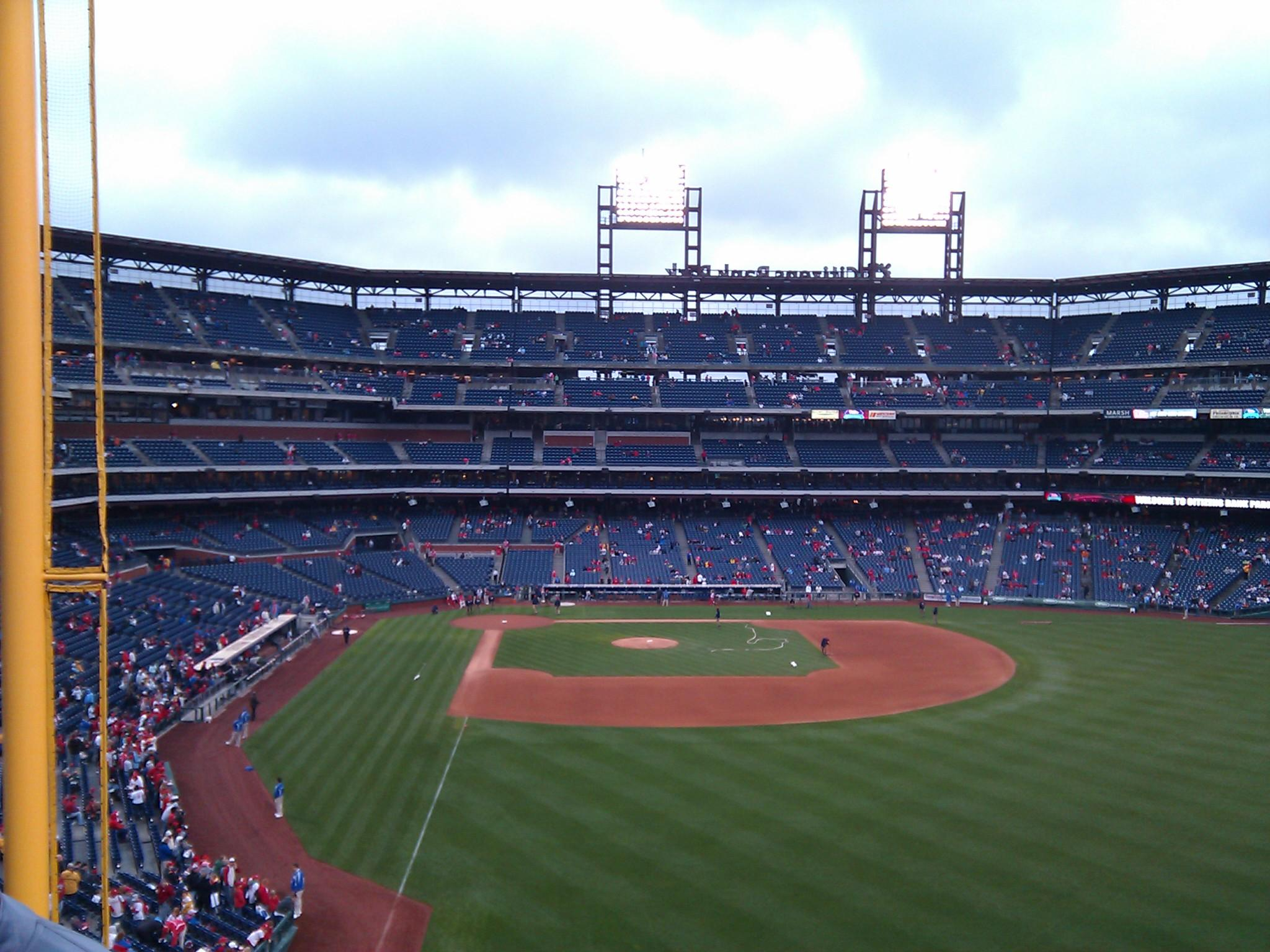 Citizens Bank Park Section 205 Row 7 Seat 4