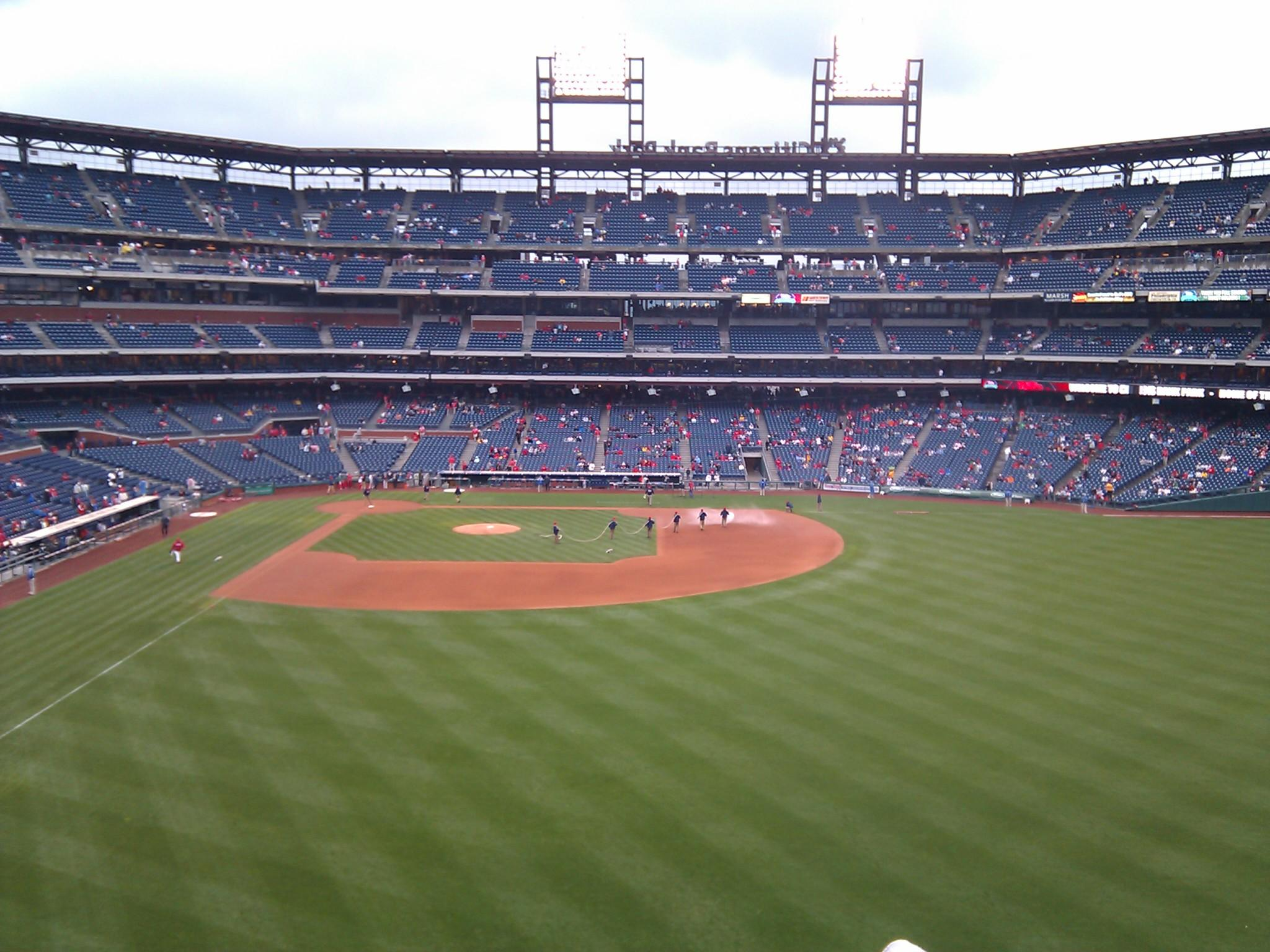 Citizens Bank Park Section 203 Row 6 Seat 16