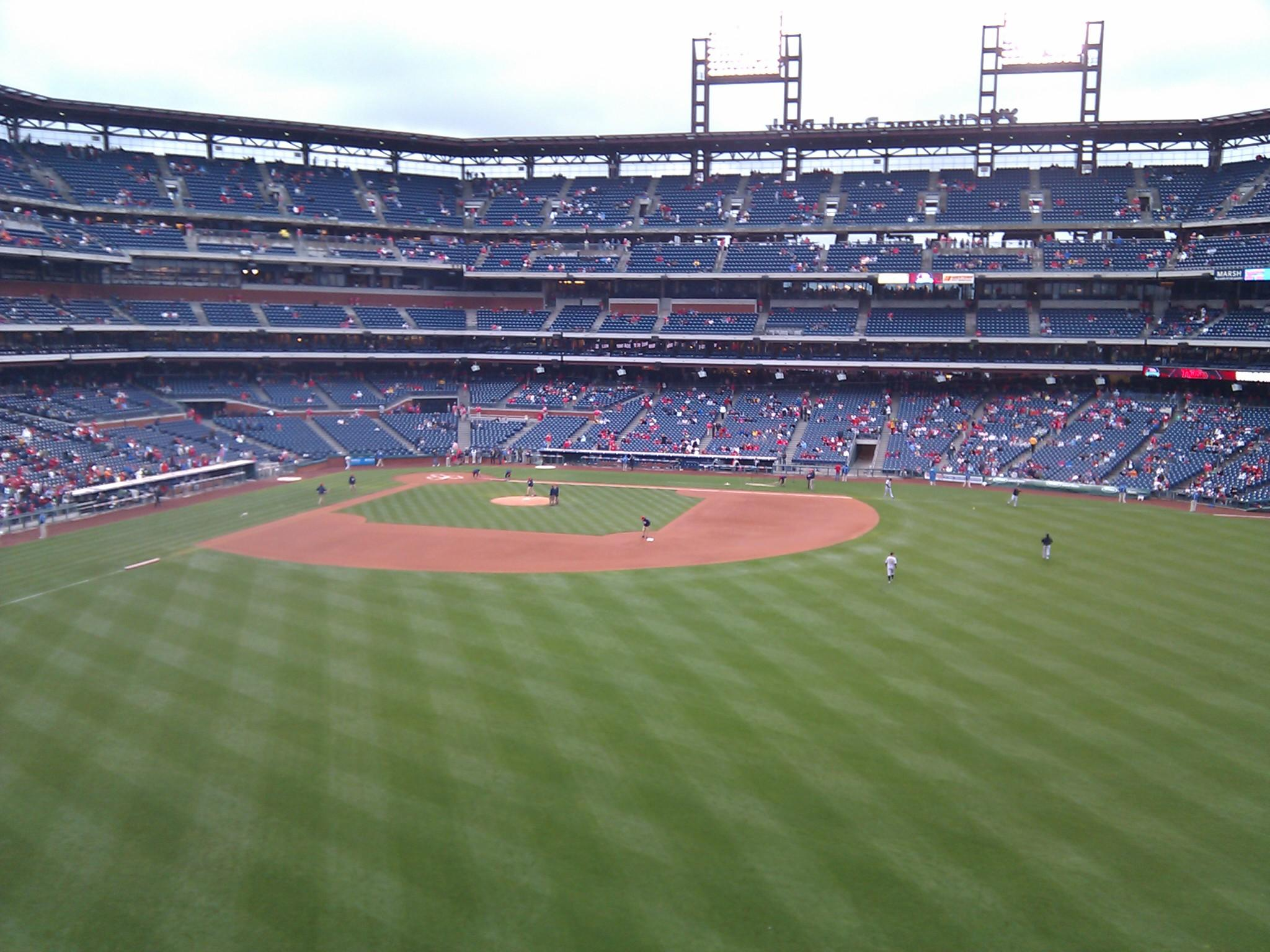 Citizens Bank Park Section 201 Row 1 Seat 1