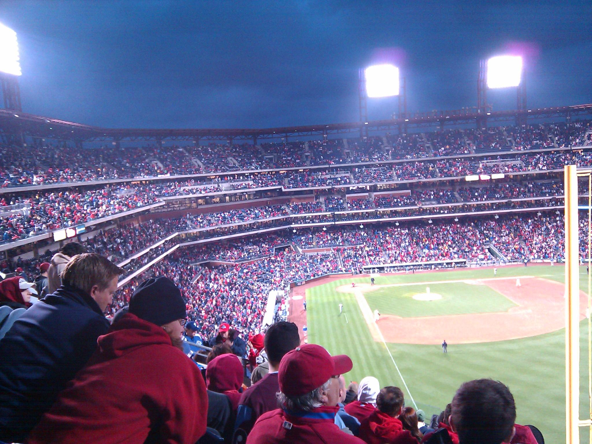 Citizens Bank Park Section 307 Row 14 Seat 6