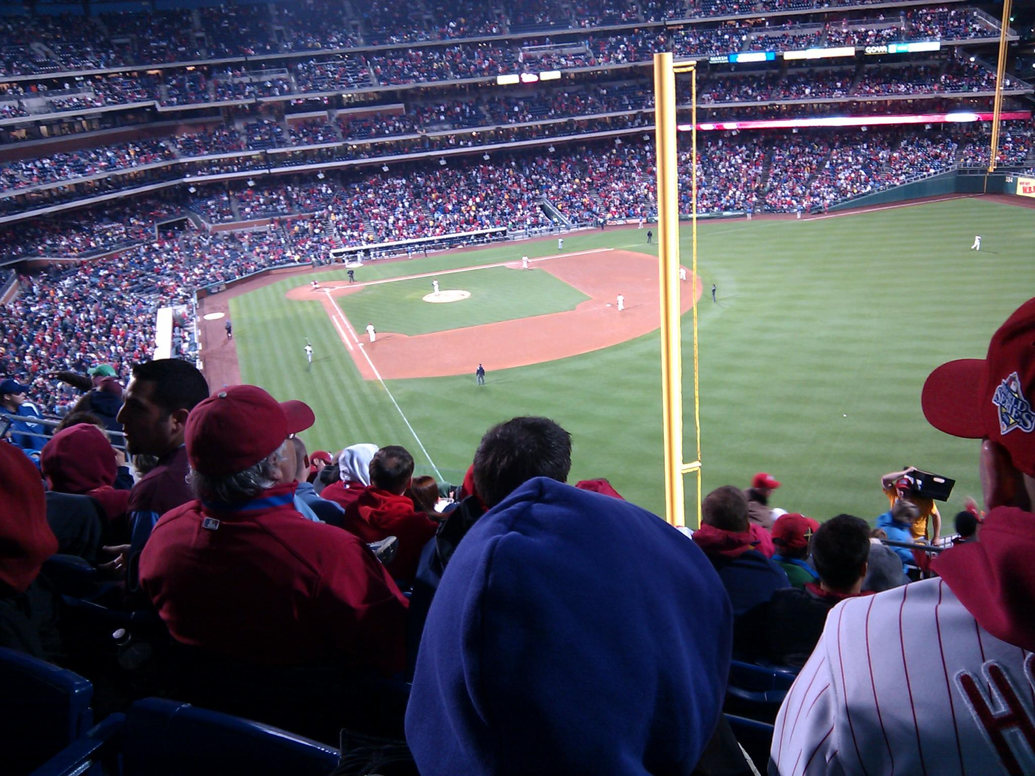 Citizens Bank Park Section 306 Row 14 Seat 6