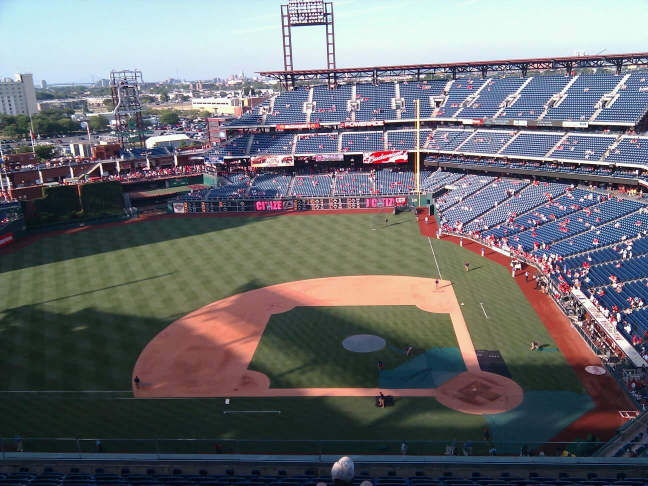 Citizens Bank Park Section 425 Row 13 Seat 10