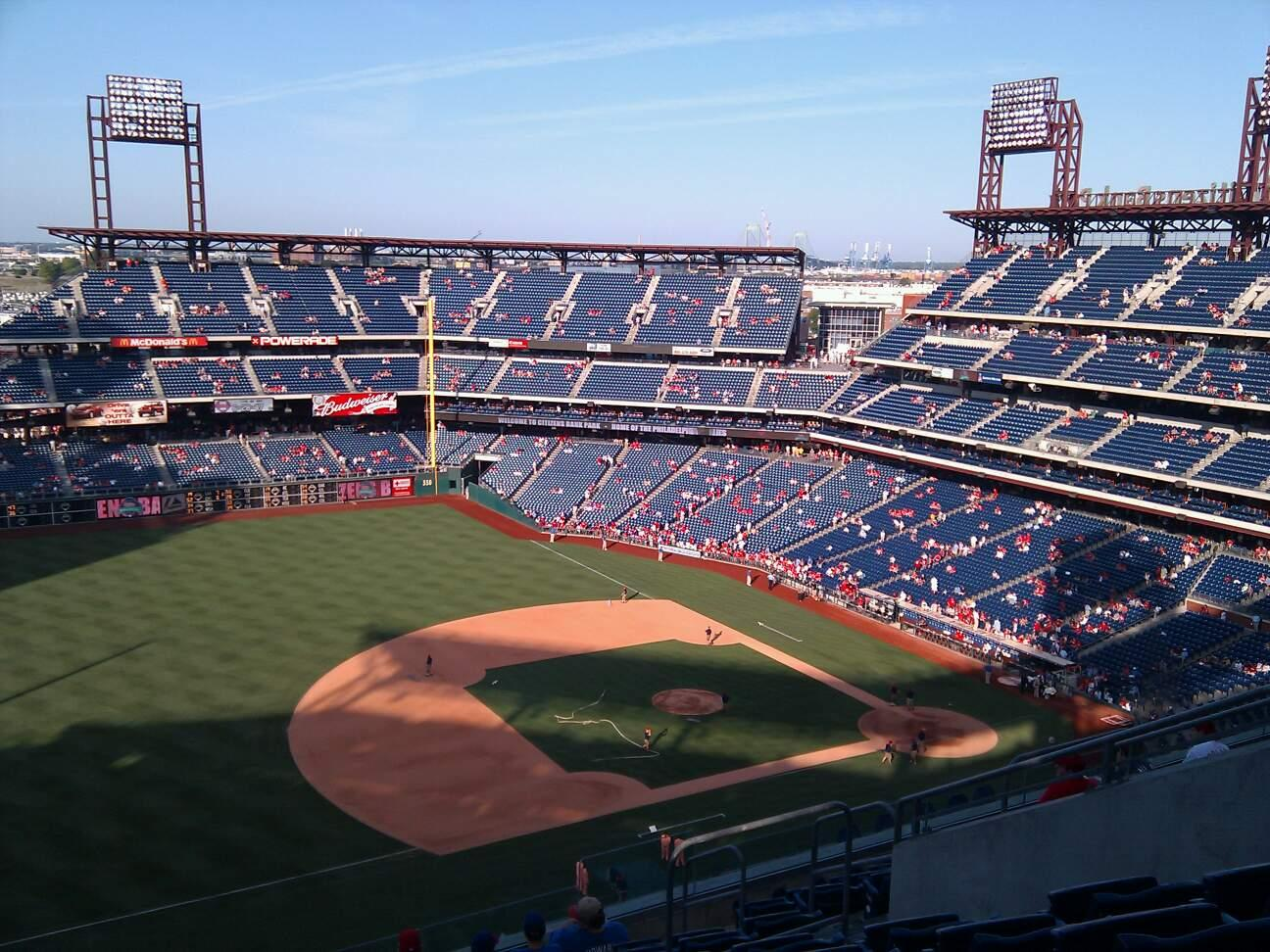 Citizens Bank Park Section 429 Row 11 Seat 10