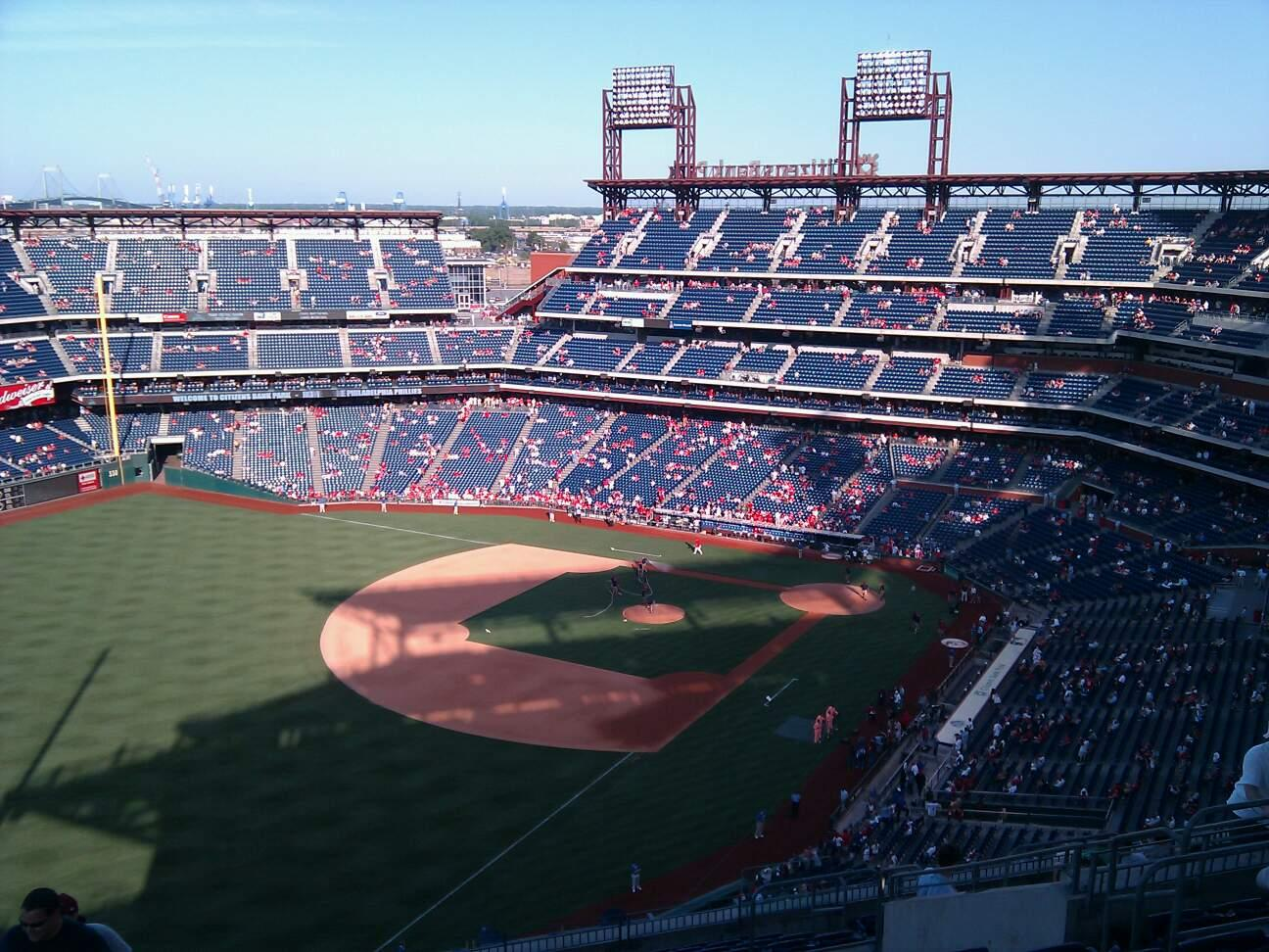 Citizens Bank Park Section 433 Row 16 Seat 10