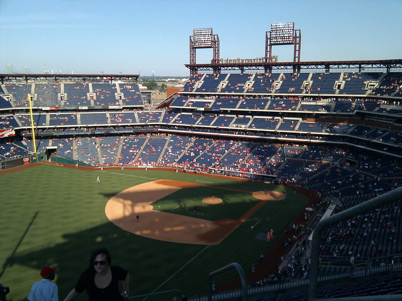 Citizens Bank Park Section 434 Row 13 Seat 1