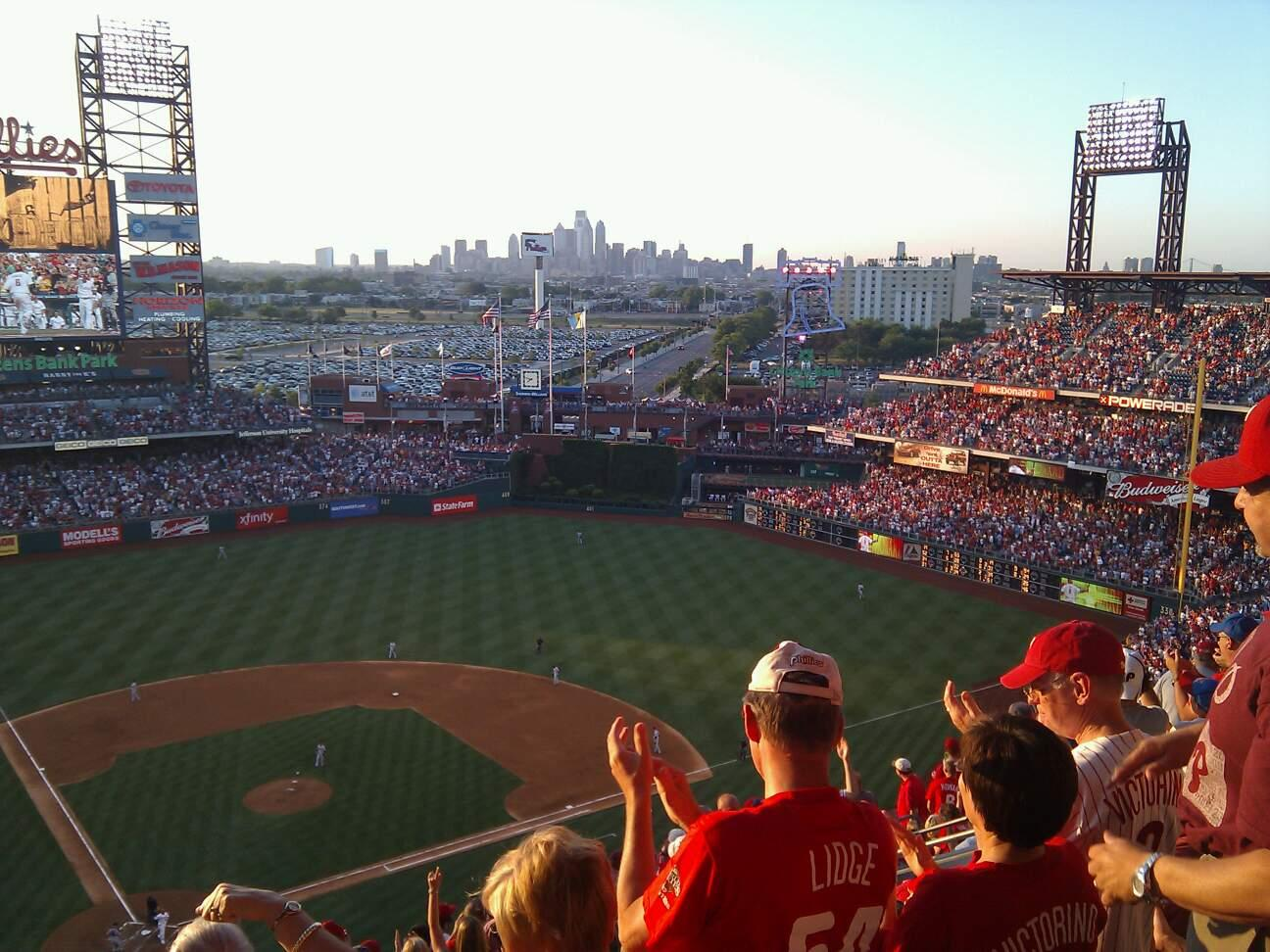 Citizens Bank Park Section 418 Row 13 Seat 12