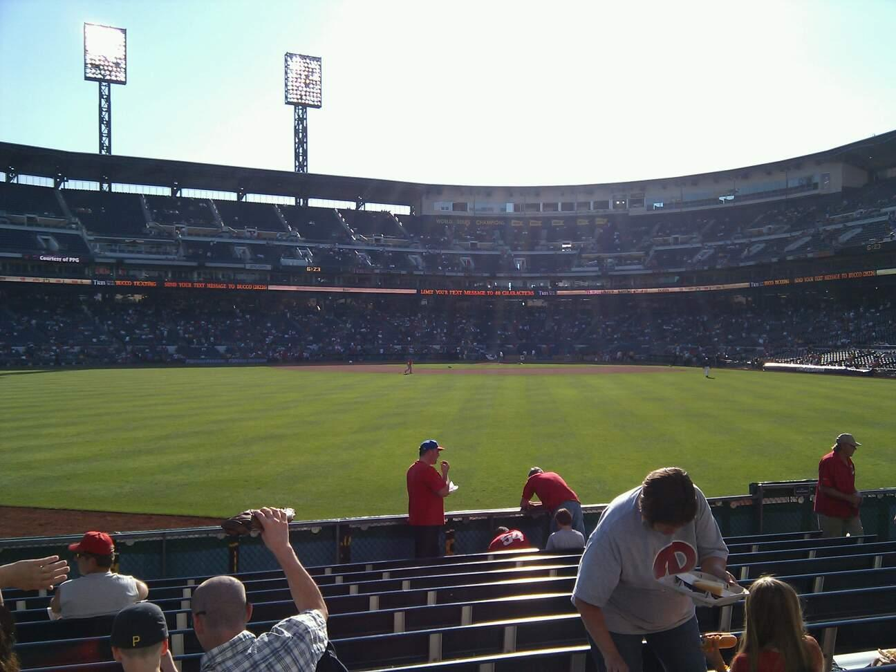PNC Park Section 138 Row l Seat 16