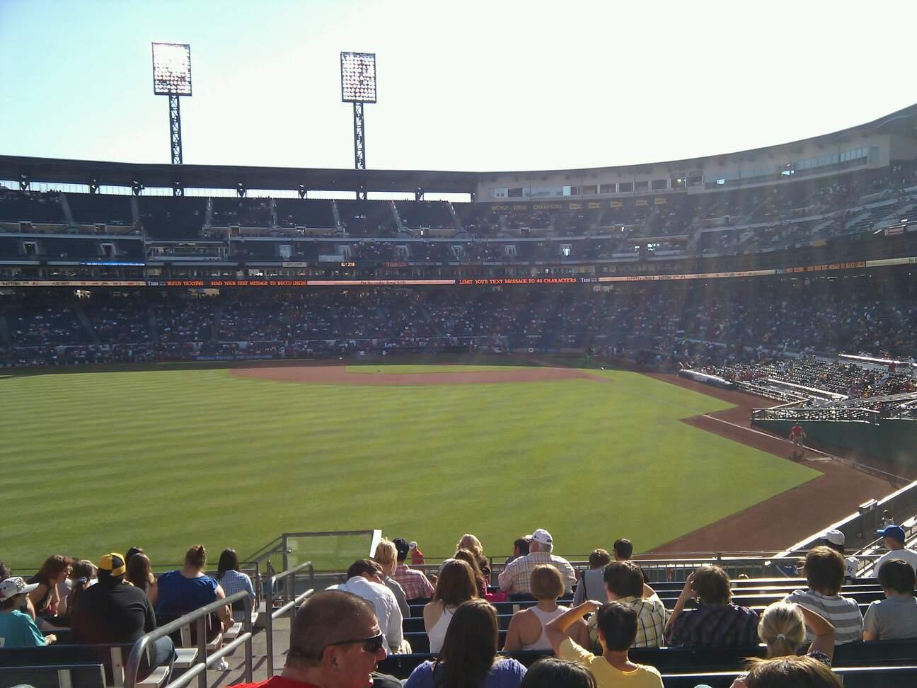 PNC Park Section 235 Row n Seat 20