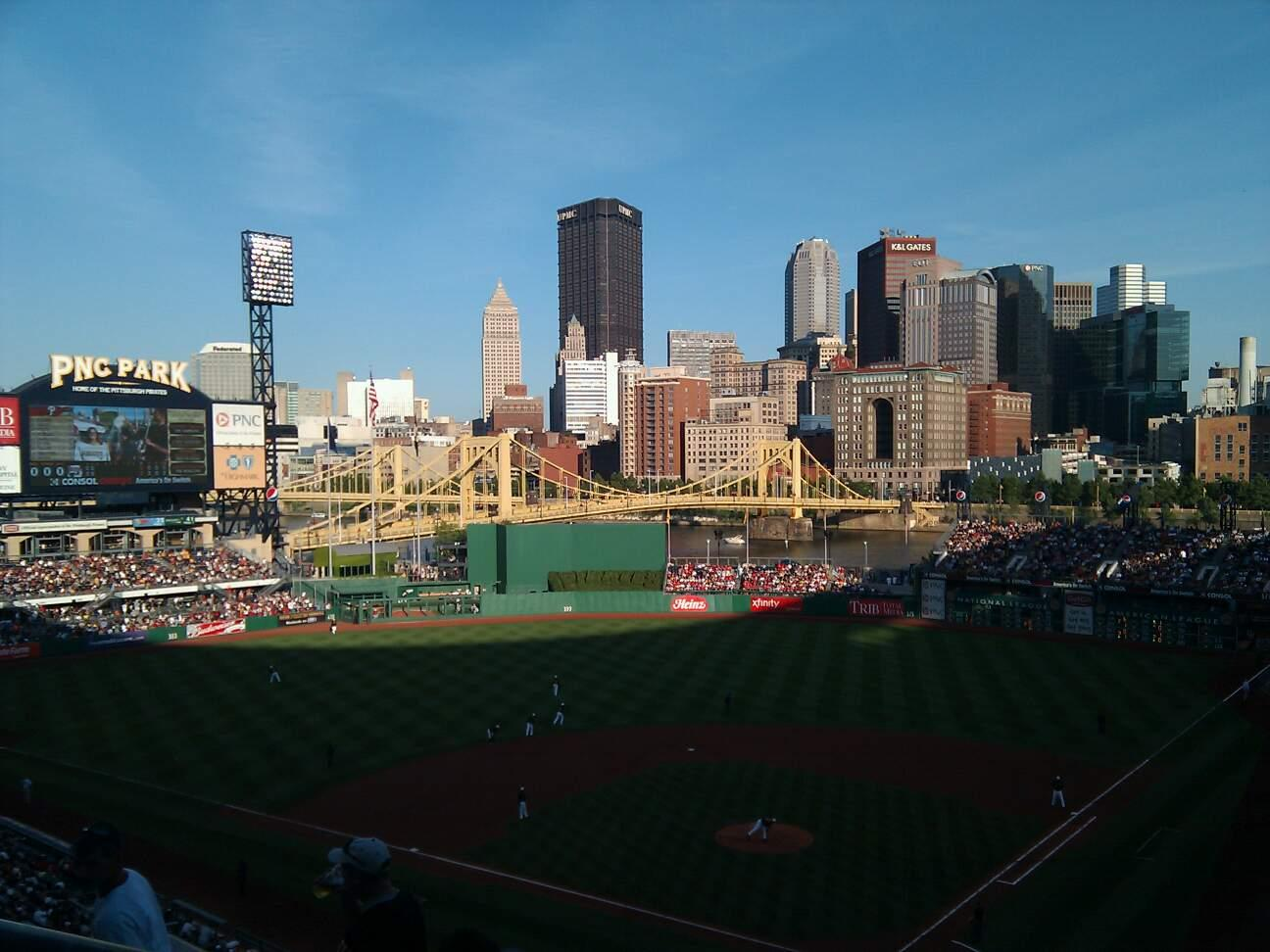 PNC Park Section 217 Row j Seat 16