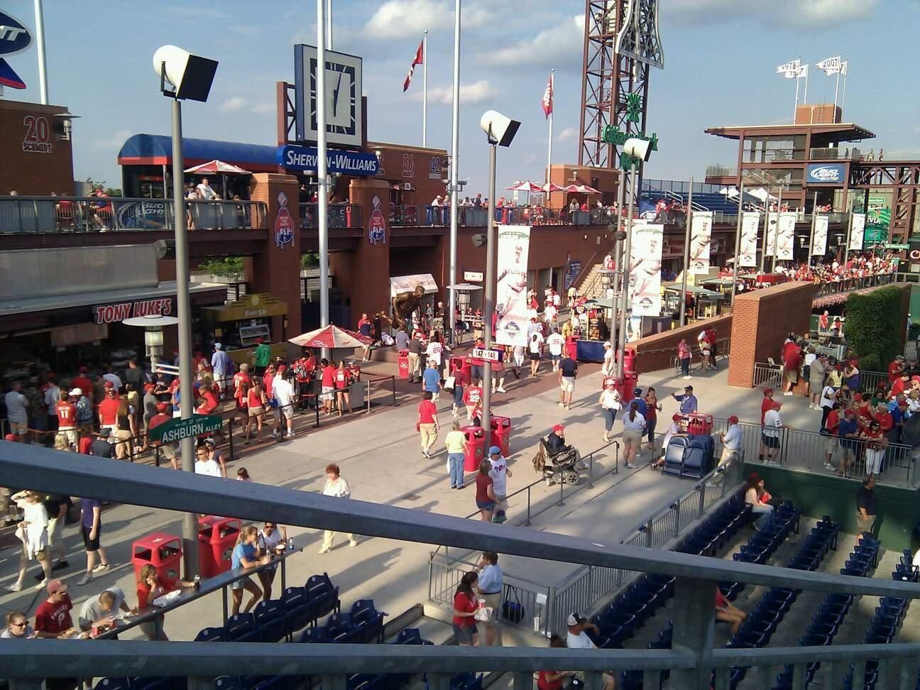 Citizens Bank Park Section 245 Row 2 Seat 13