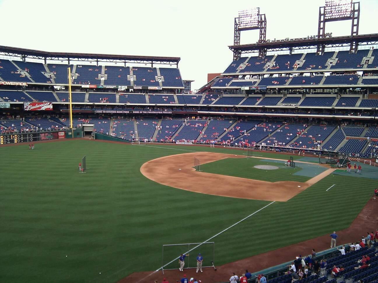 Citizens Bank Park Section 236 Row 3 Seat 3