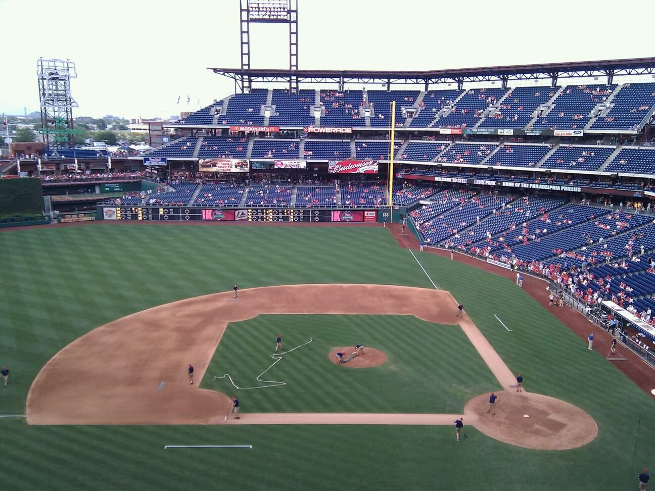 Citizens Bank Park Section 325 Row 1 Seat 24