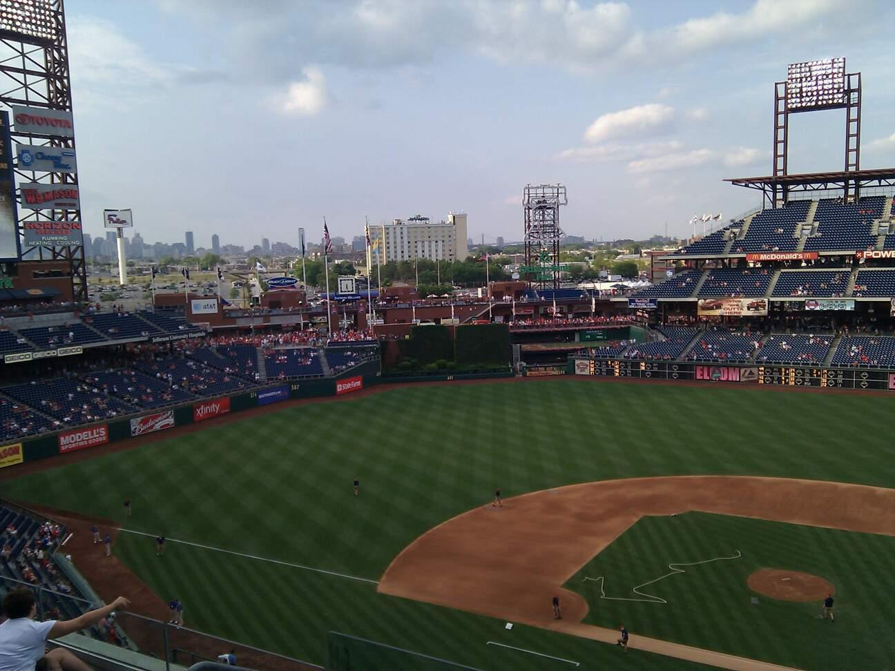 Citizens Bank Park Section 324 Row 5 Seat 19