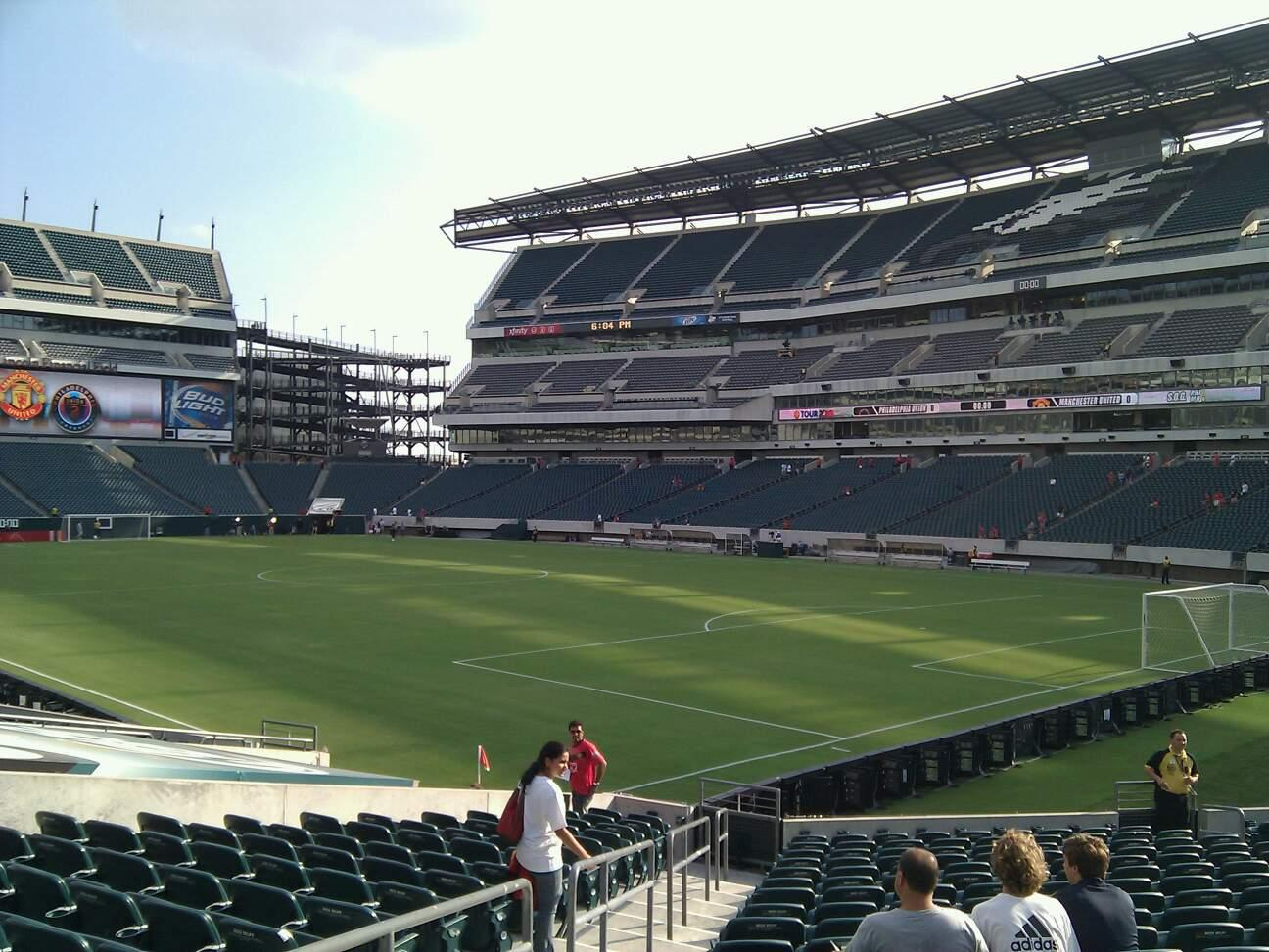 Lincoln Financial Field Section 126 Row 18 Seat 18