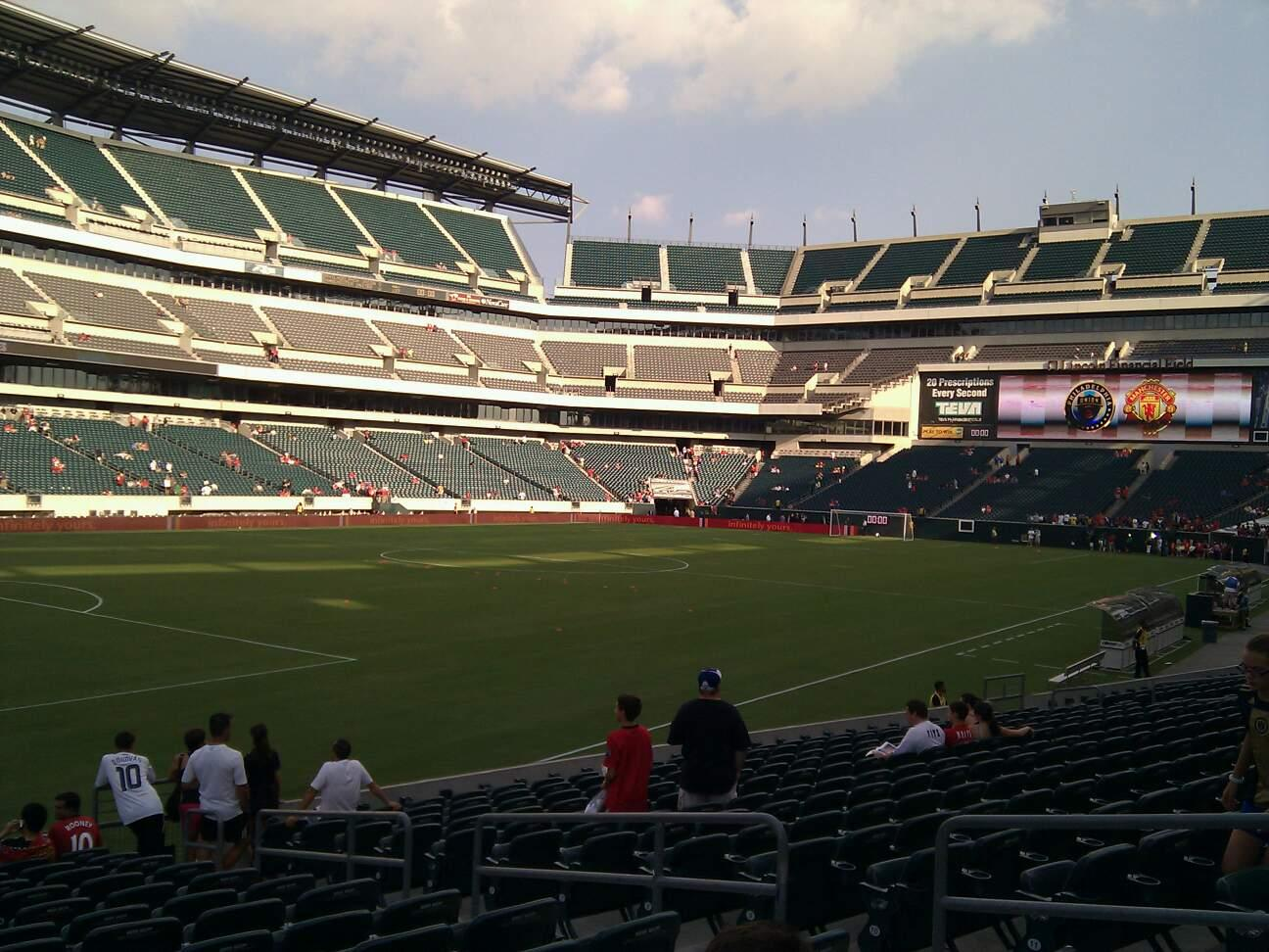 Lincoln Financial Field Section 134 Row 15 Seat 7