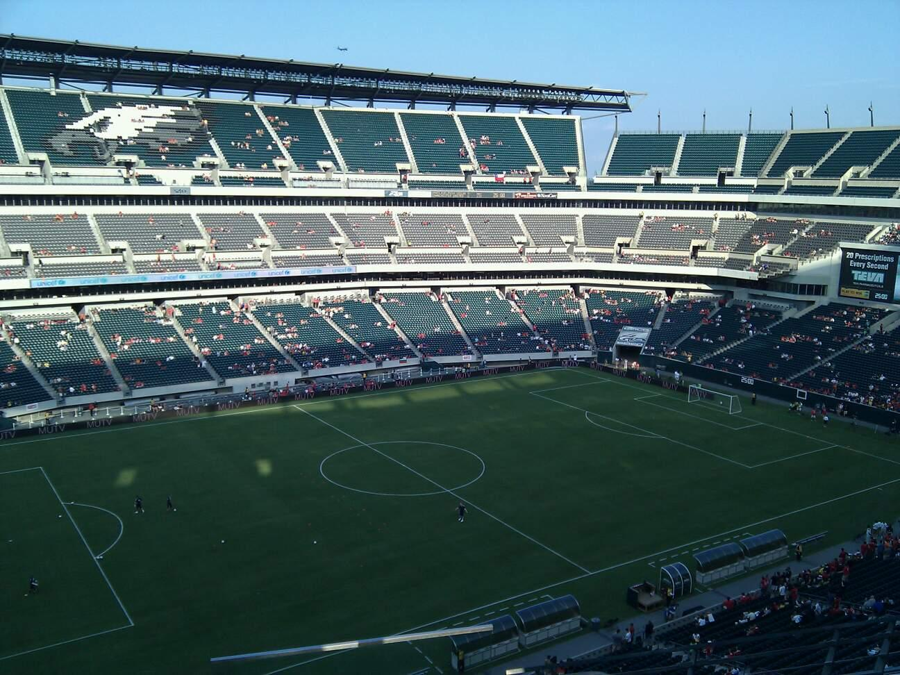Lincoln Financial Field Section 241 Row 4 Seat 1