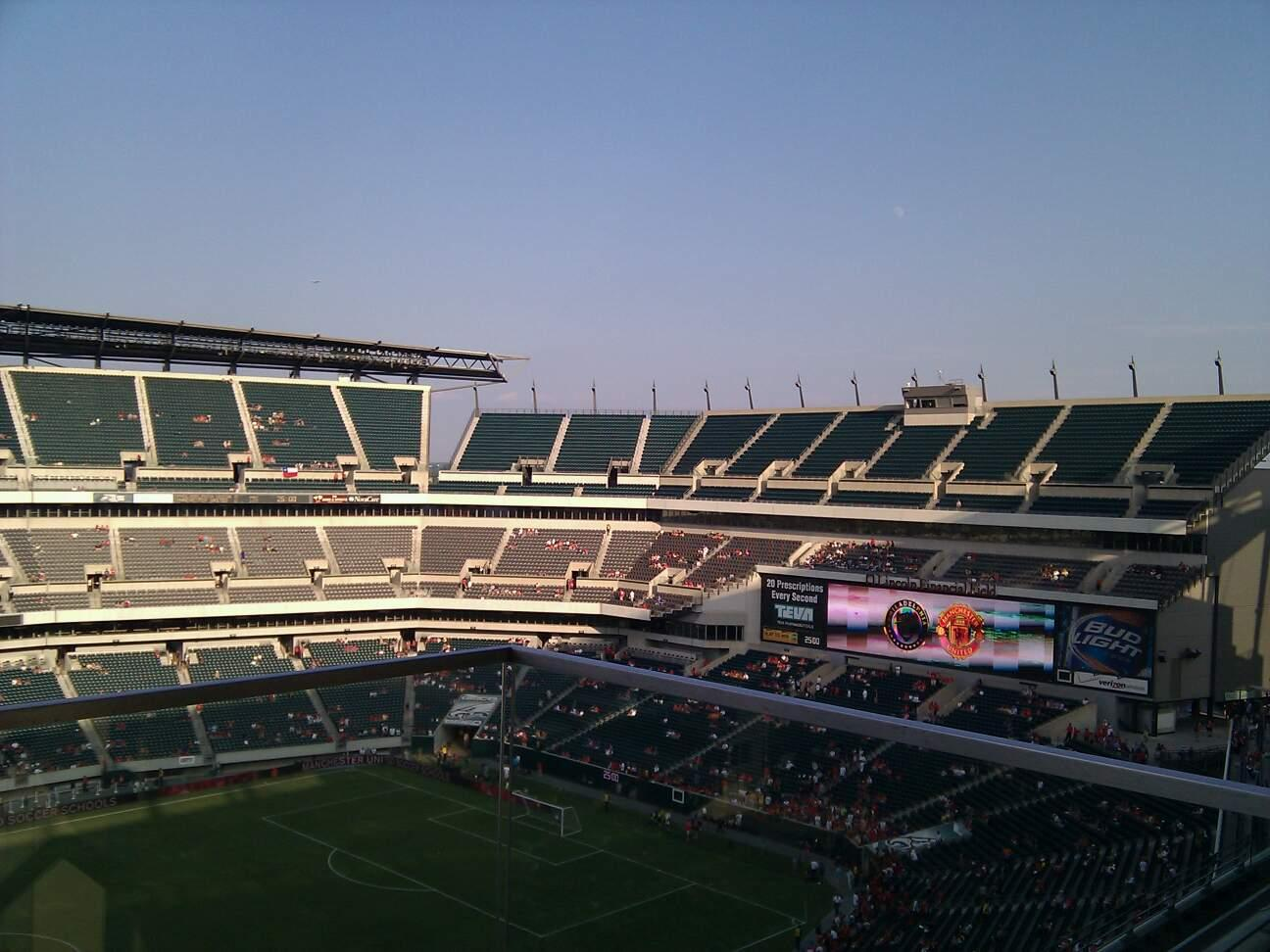 Lincoln Financial Field Section 243 Row 6 Seat 1