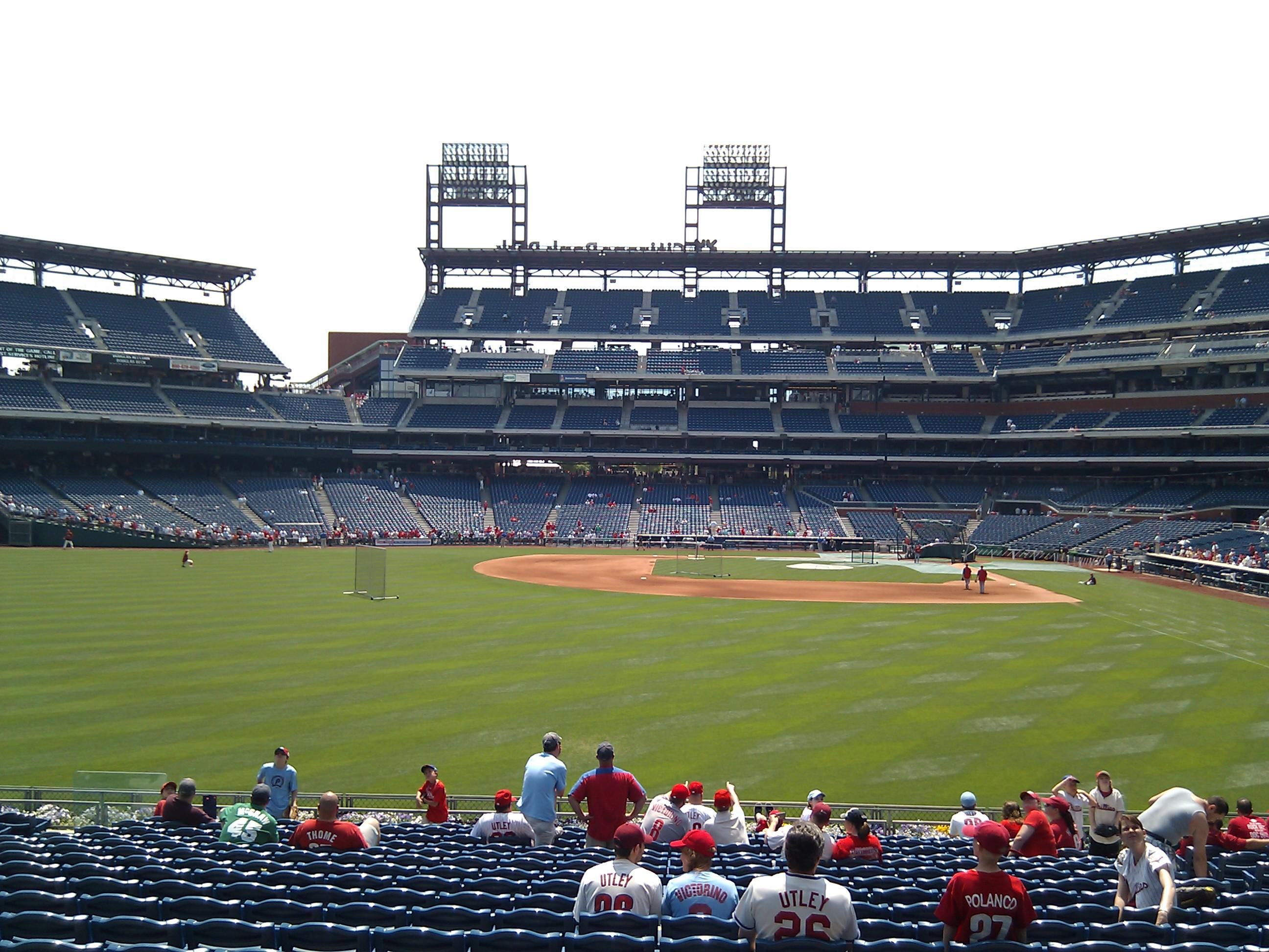 Citizens Bank Park Section 143 Row 19 Seat 9