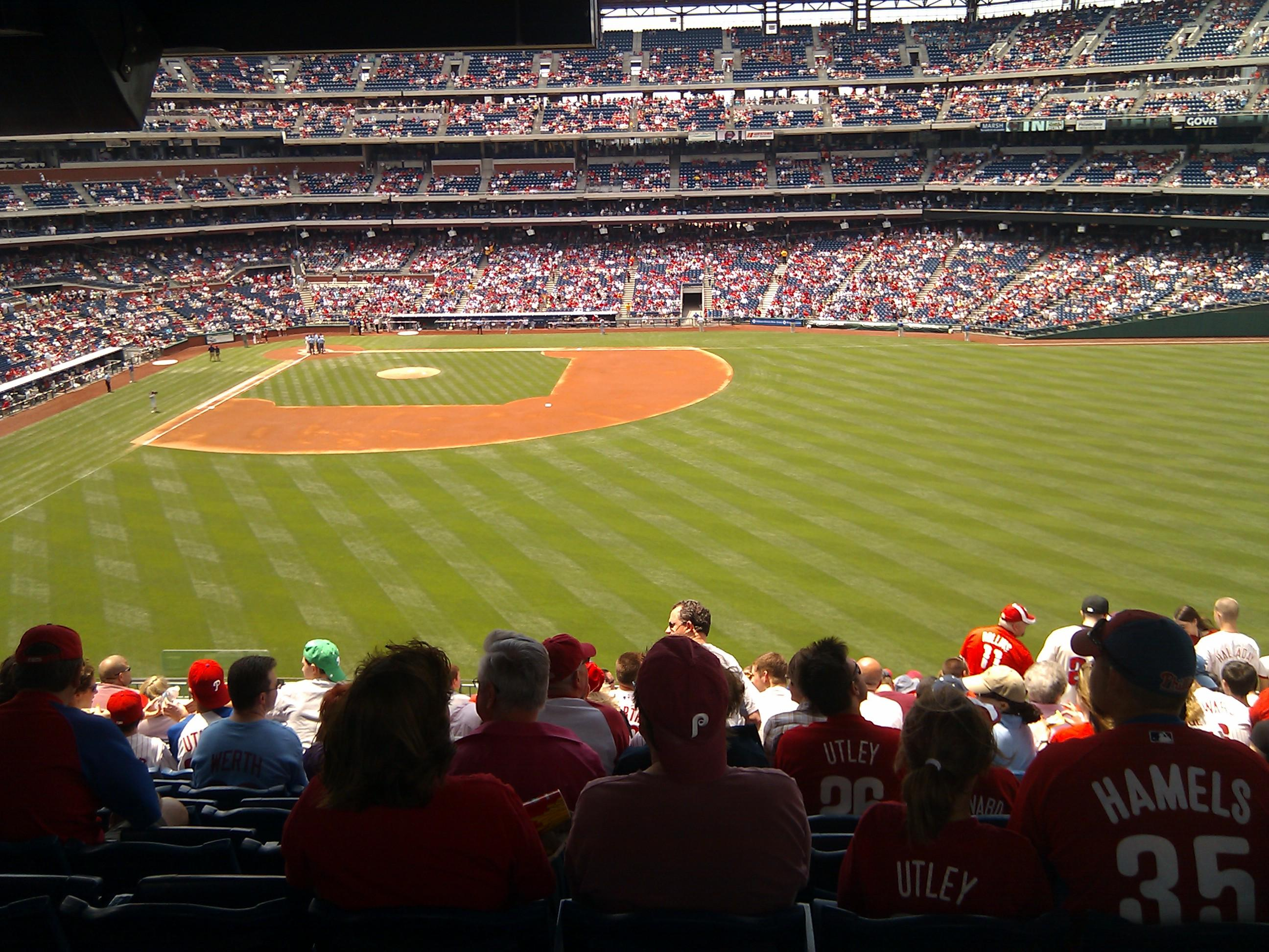 Citizens Bank Park Section 202 Row 16 Seat 10