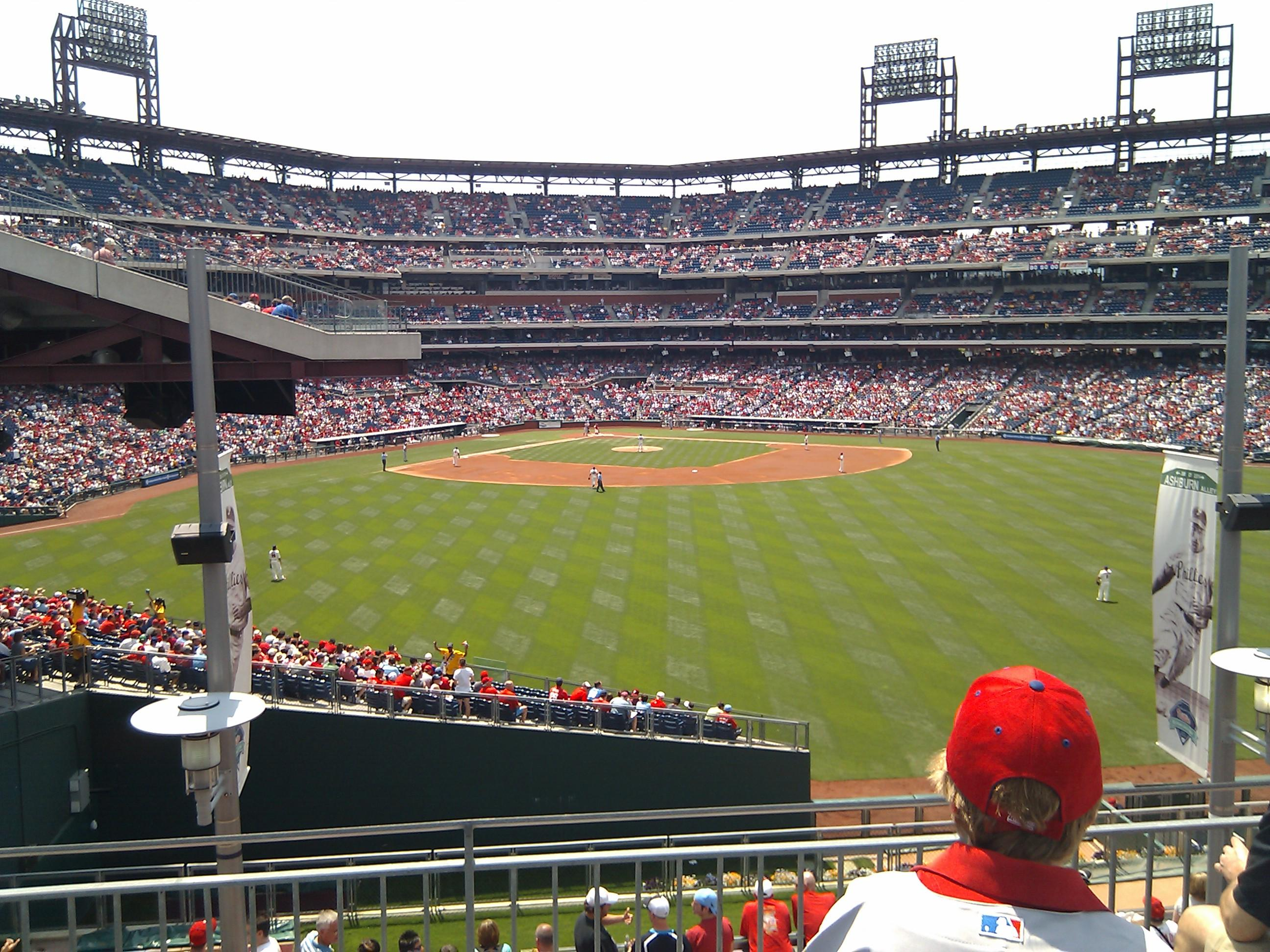 Citizens Bank Park Section Bud Light Bleachers Row 3 Seat 28