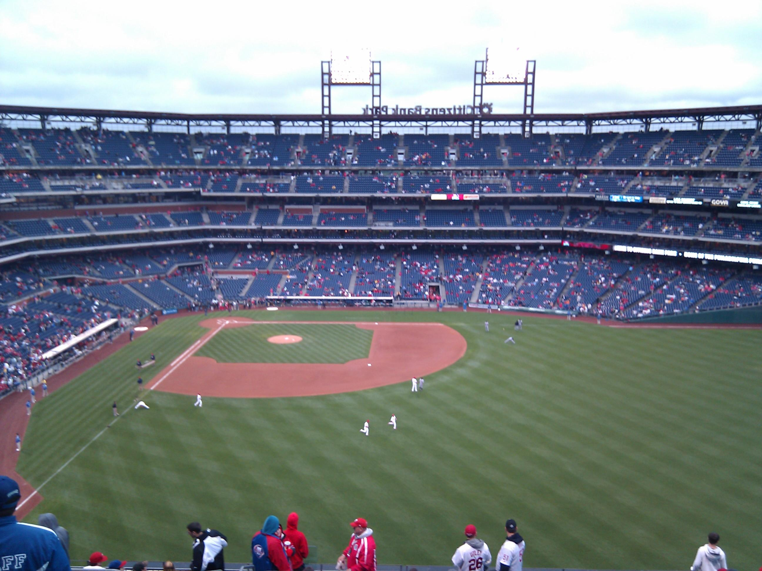 Citizens Bank Park Section 302 Row 15 Seat 20