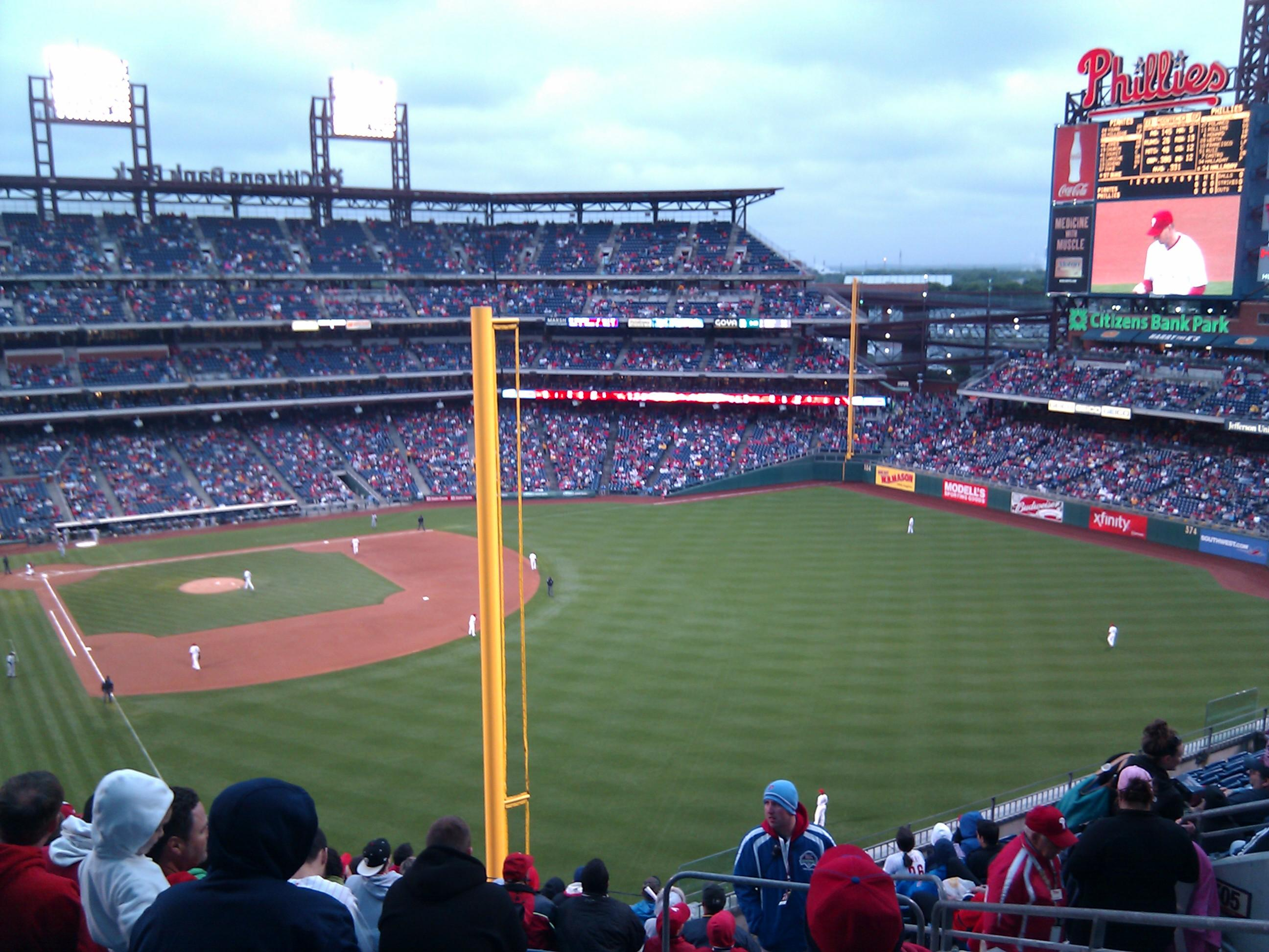 Citizens Bank Park Section 306 Row 14 Seat 5