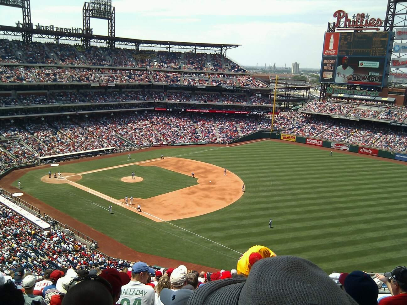 Citizens Bank Park Section 310 Row 18 Seat 7