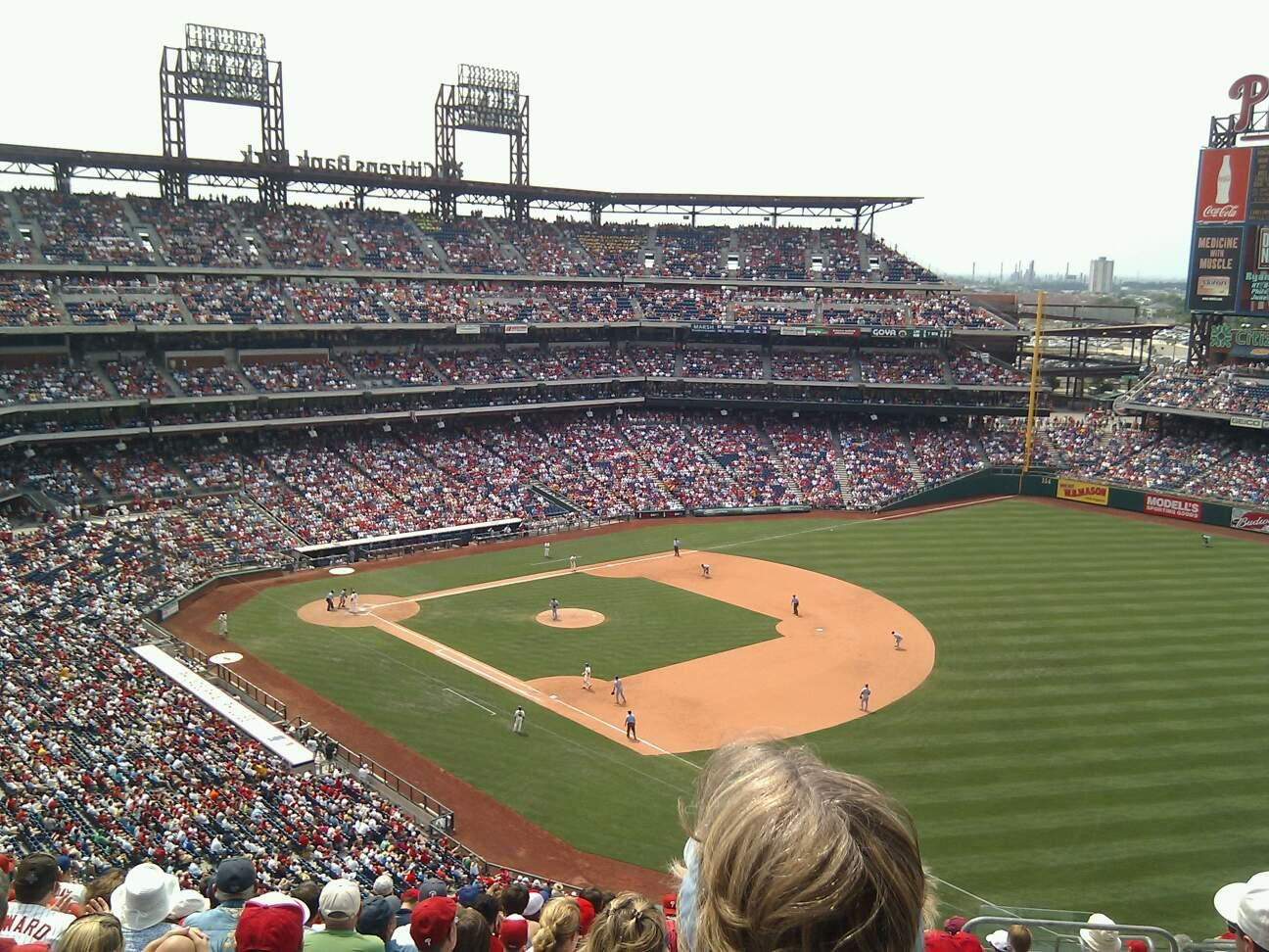 Citizens Bank Park Section 310 Row 15 Seat 6