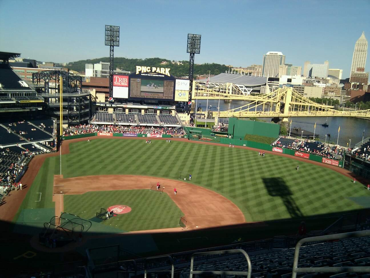 PNC Park Section 312 Row w Seat 5