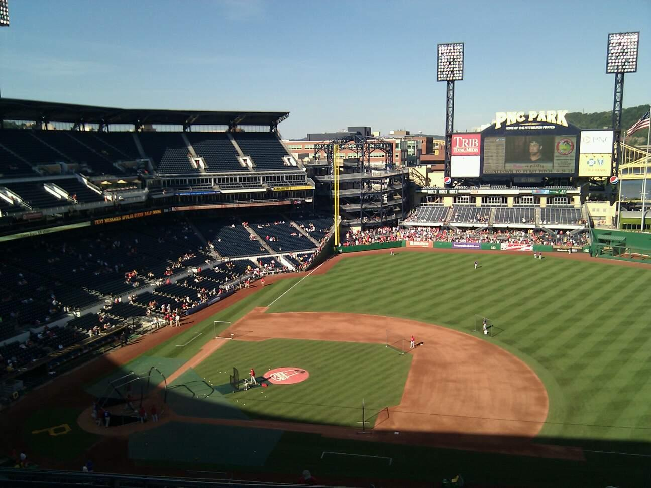 PNC Park Section 310 Row n Seat 14