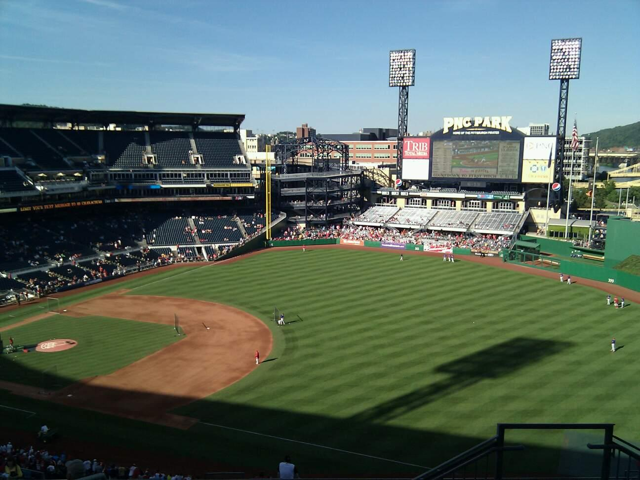 PNC Park Section 303 Row m Seat 4