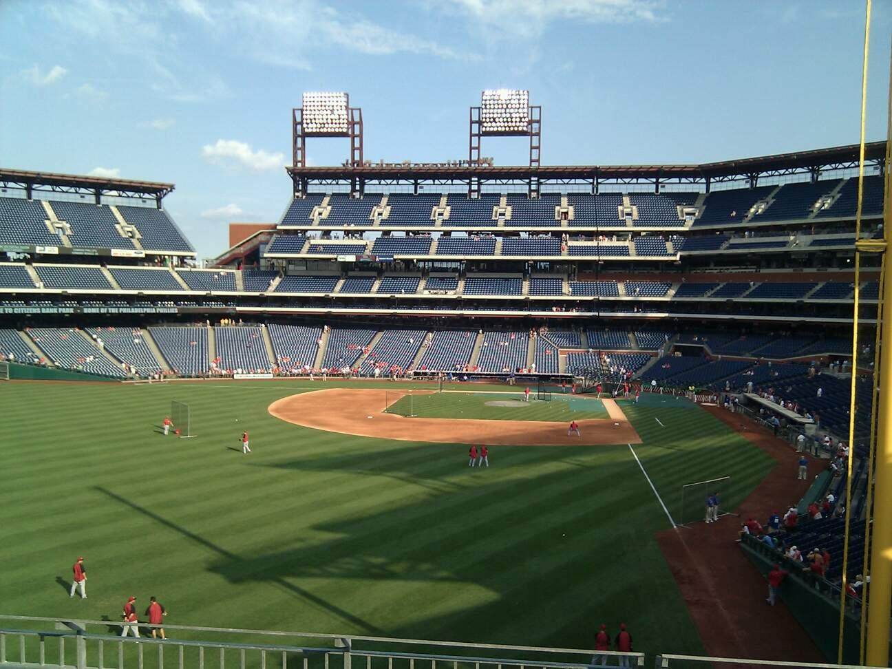 Citizens Bank Park Section 241 Row 5 Seat 7