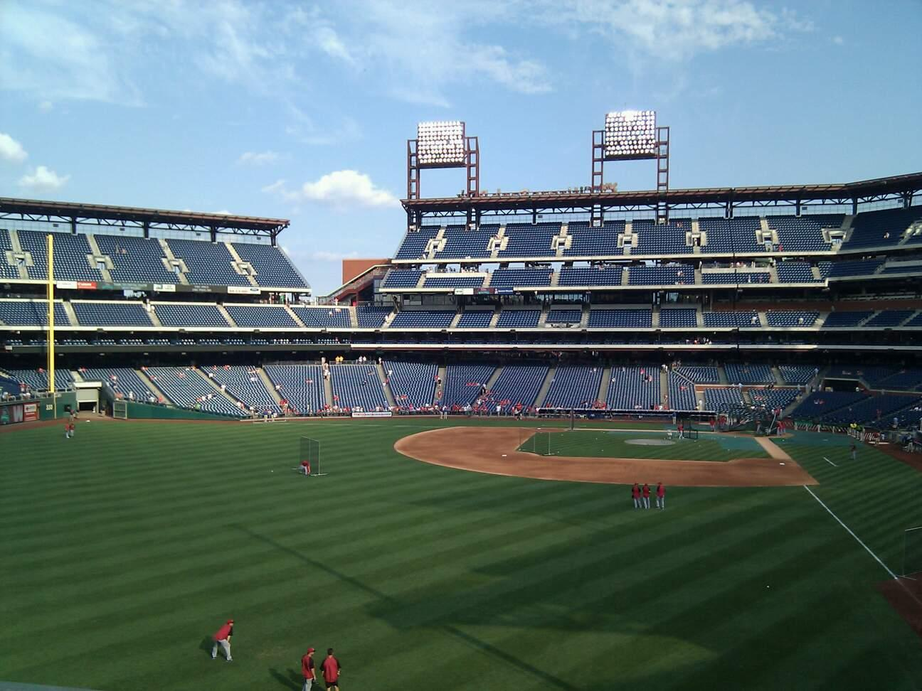 Citizens Bank Park Section 241 Row 1 Seat 16