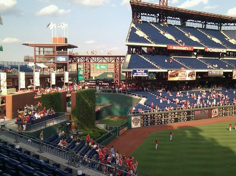 Citizens Bank Park Section 243 Row 6 Seat 22