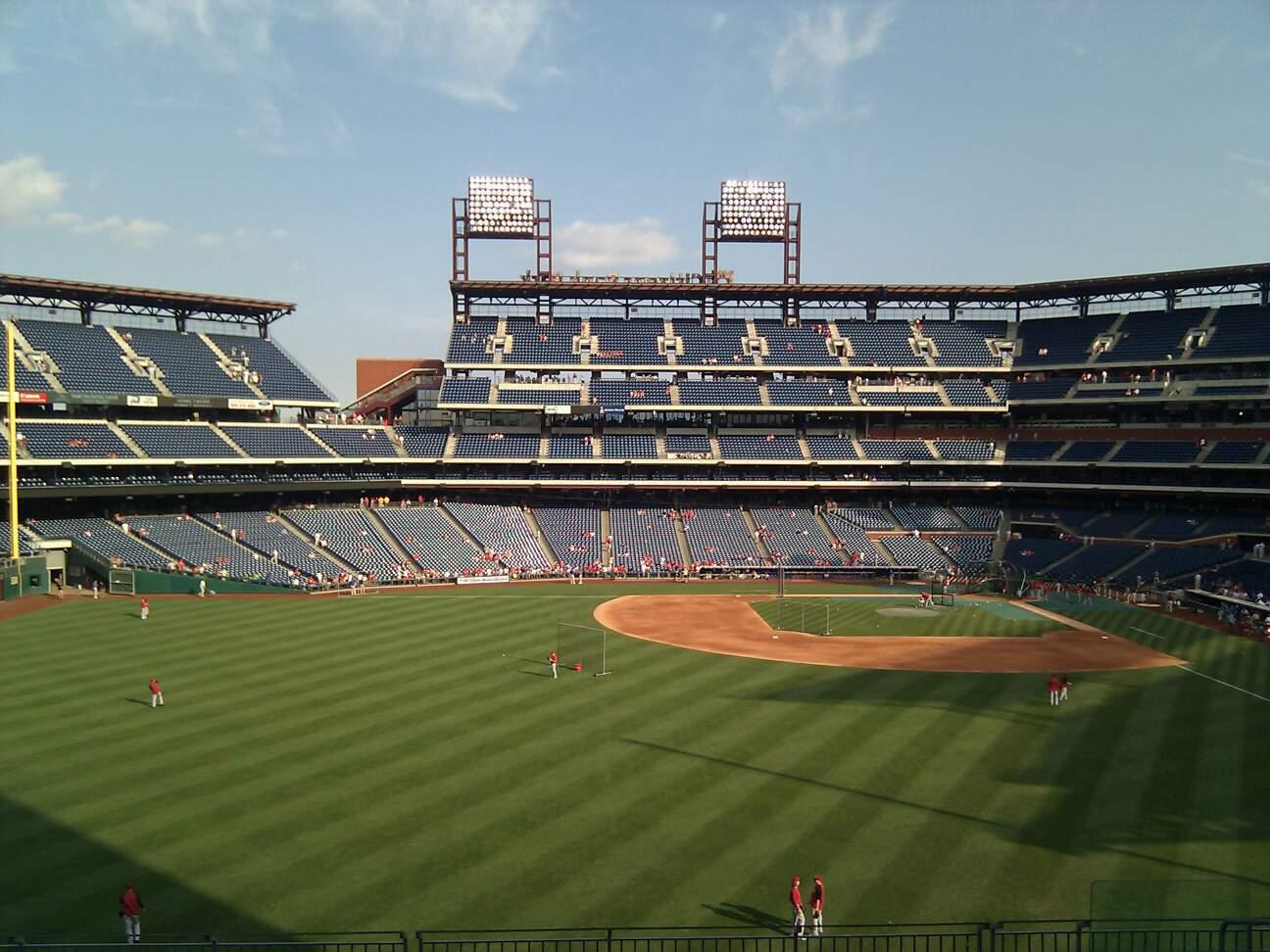 Citizens Bank Park Section 244 Row 11 Seat 10